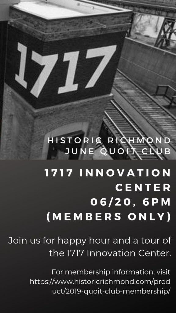 June Quoit Club Social Media flyer