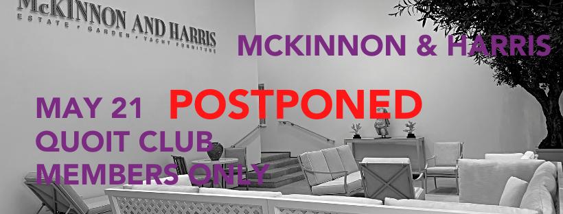 M&H Postponed