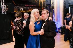 Melissa and Julian Bowen-Rees