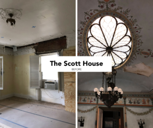 before The Scott House collage fb